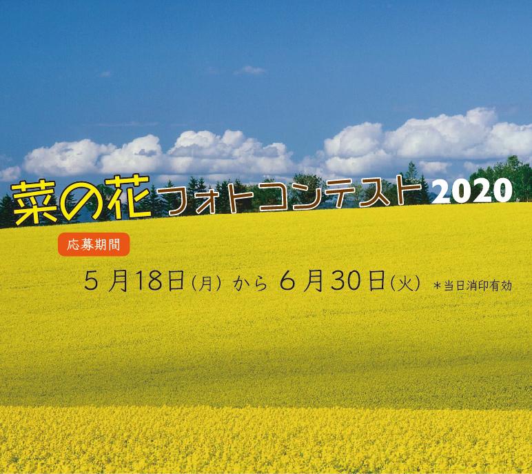 2020安平町菜の花フォトコン…
